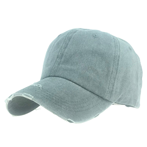 Wholesale cotton sunscreen hole ponytail hat