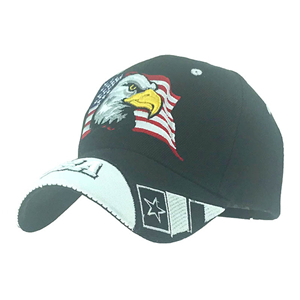 Wholesale USA eagle head embroidered baseball cap