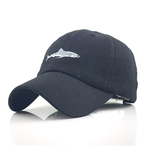 Cheap shark embroidered cheap baseball cap