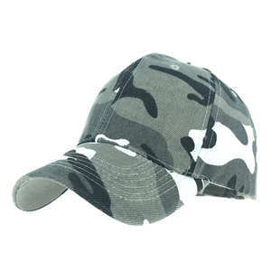 China cheap camouflage cotton shade baseball cap