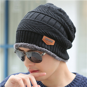 Wholesale plus knitted hat