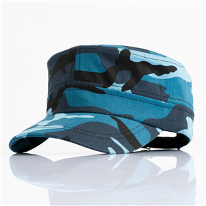 Camouflage printed cotton cheap sun hat