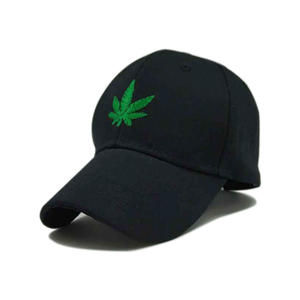China Yiwu cheap green maple leaf cotton baseball cap