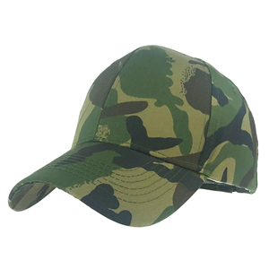 China Yiwu wholesale cotton camo baseball cap