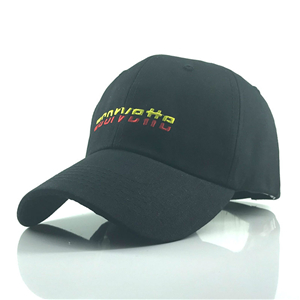 Letter embroidered cotton baseball cap cheap from China