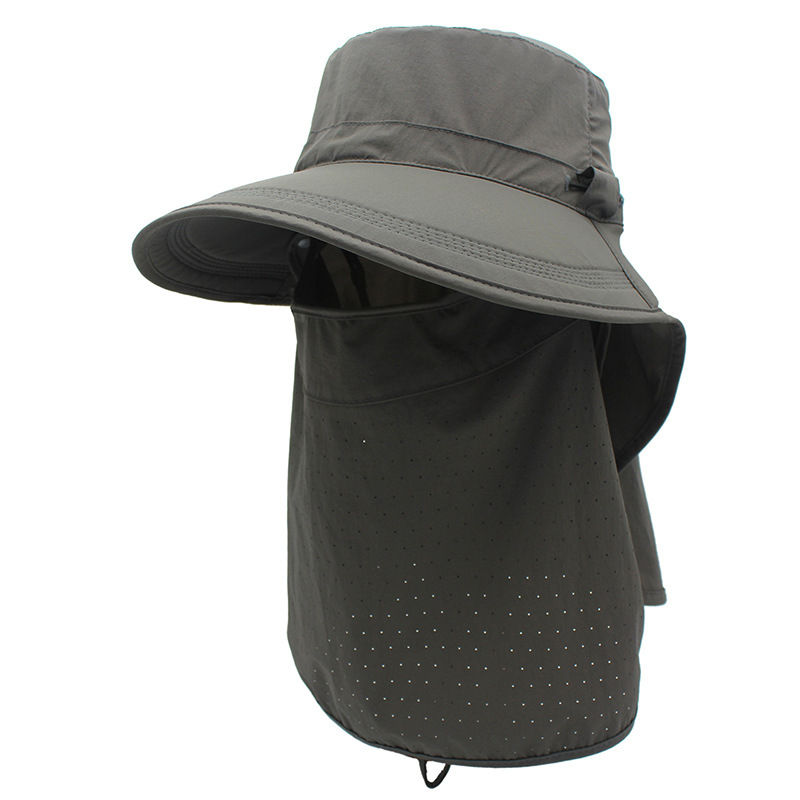 360 Degree Neck Face UV Protection Hat Polyester Quick Dry Climbing Hiking Cap
